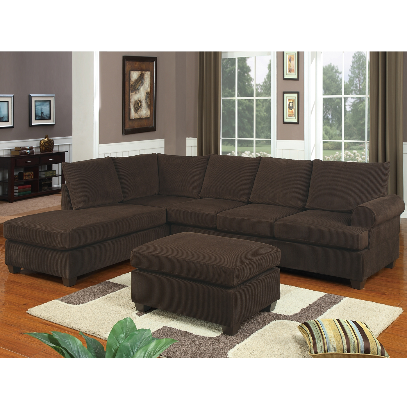 Popular Photo of 10 Foot Sectional Sofa