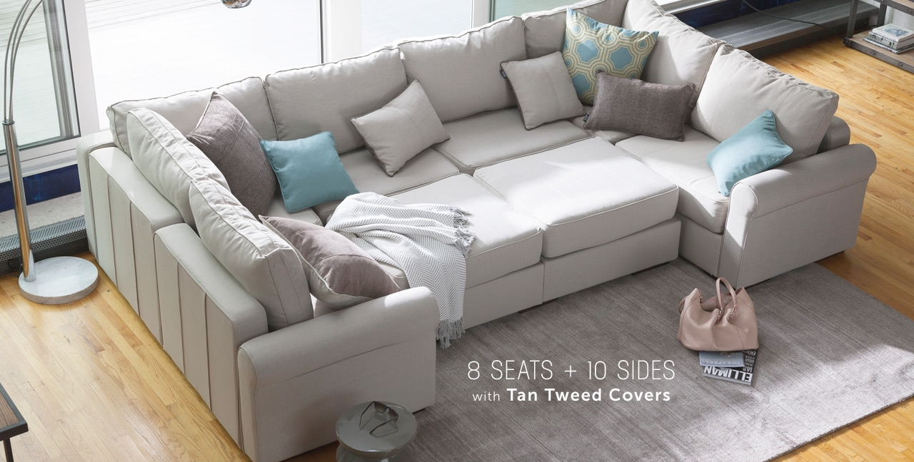 10 Piece Sectional Sofa Cleanupflorida Pertaining To 10 Piece Sectional Sofa (#1 of 12)