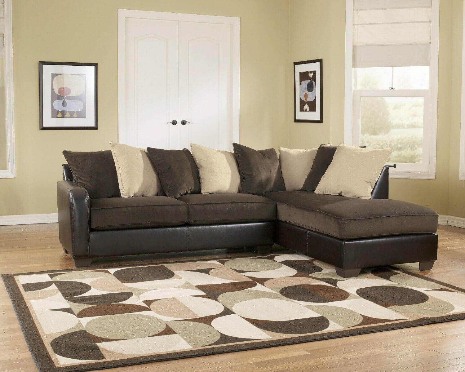 100 Beautiful Sectional Sofas Under 1000 With Chocolate Brown Sectional Sofa (#2 of 12)
