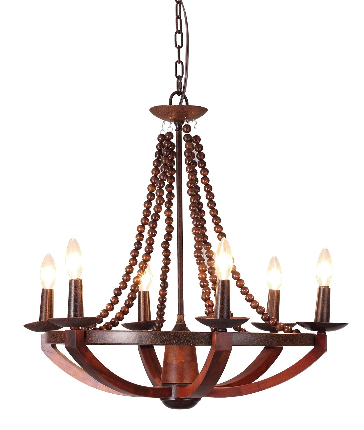 12 Best Rustic Wood And Metal Chandeliers Qosy With Regard To Wooden Chandeliers (#2 of 12)
