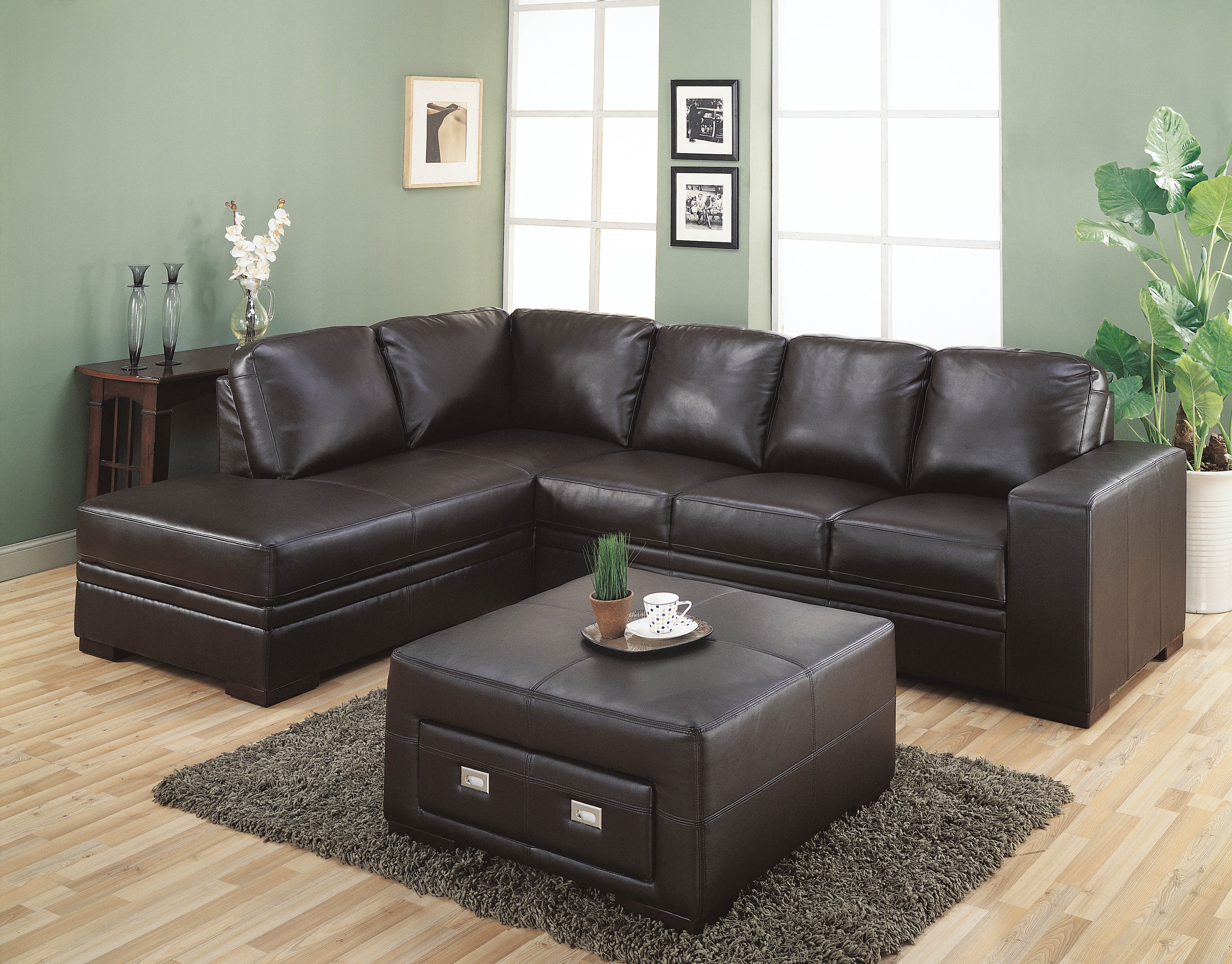 12 of Chocolate Brown Sectional Sofa