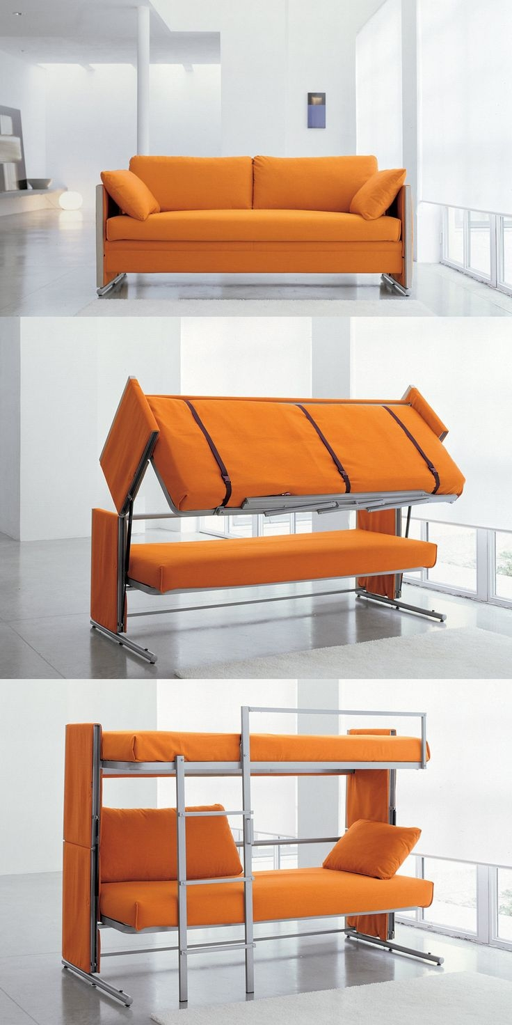25 Best Ideas About Couch Bunk Beds On Pinterest With Regard To Cool Sofa Beds (#1 of 12)