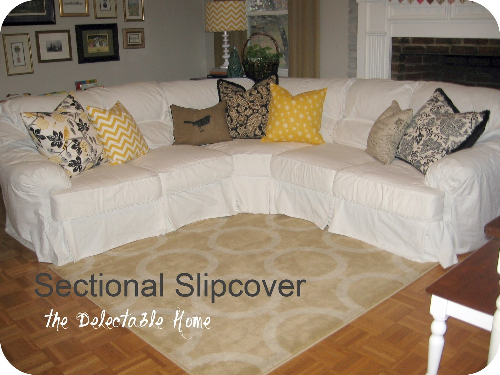 25 Best Ideas About Sectional Slipcover On Pinterest In 3 Piece Sectional Sofa Slipcovers (#1 of 12)