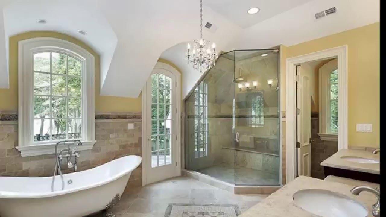 27 Beautiful Bathroom Chandeliers In Luxury Master Suites Youtube Inside Bathroom Chandeliers (#3 of 12)