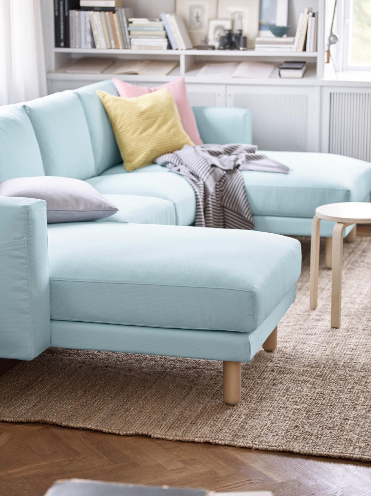5 Apartment Sized Sofas That Are Lifesavers Hgtvs Decorating Intended For Apartment Size Sofas And Sectionals (#2 of 12)