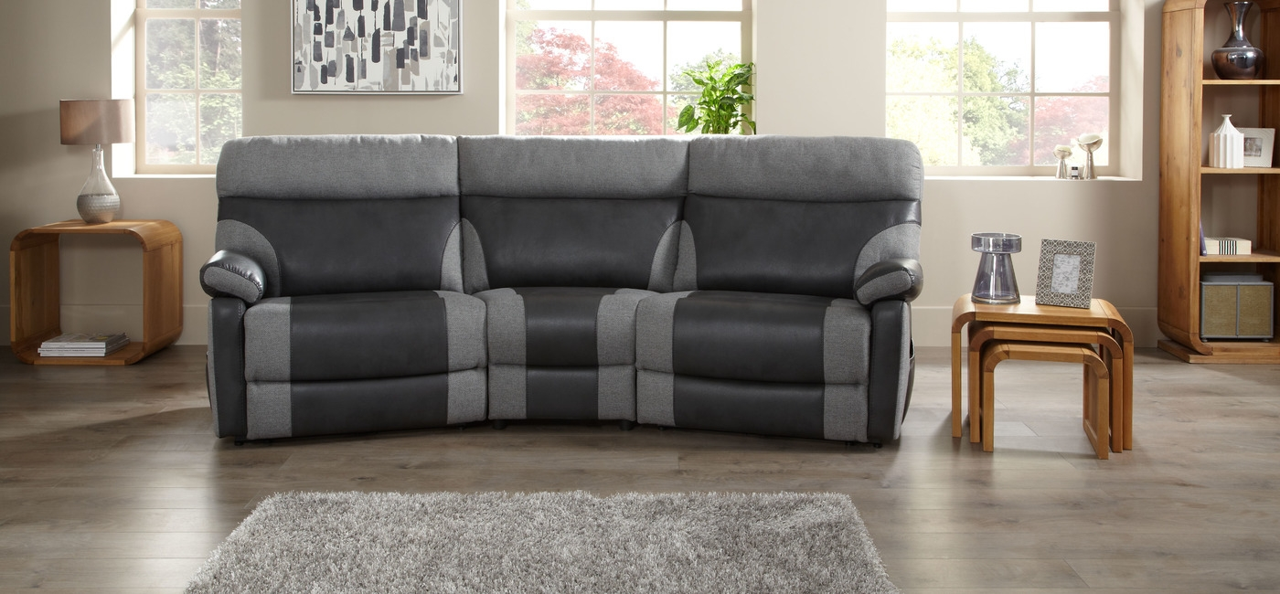 Inspiration about 56 Sofas And More Bentley Rolls Into The Furniture Game 1 With Curved Recliner Sofa (#7 of 12)