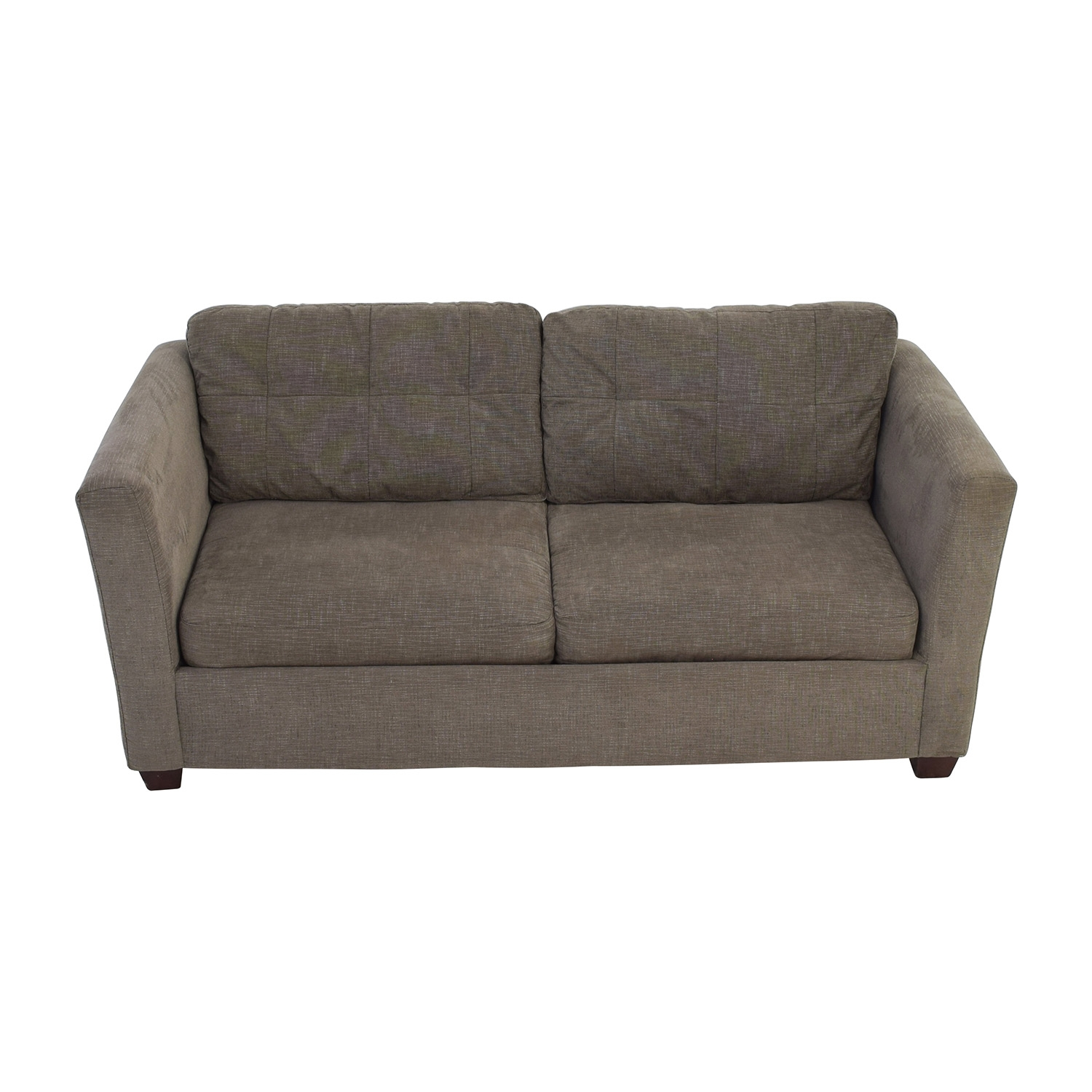 58 Off Bauhaus Bauhaus Grey Queen Sleeper Sofa Sofas Pertaining To Bauhaus Sleeper Sofa (#1 of 12)