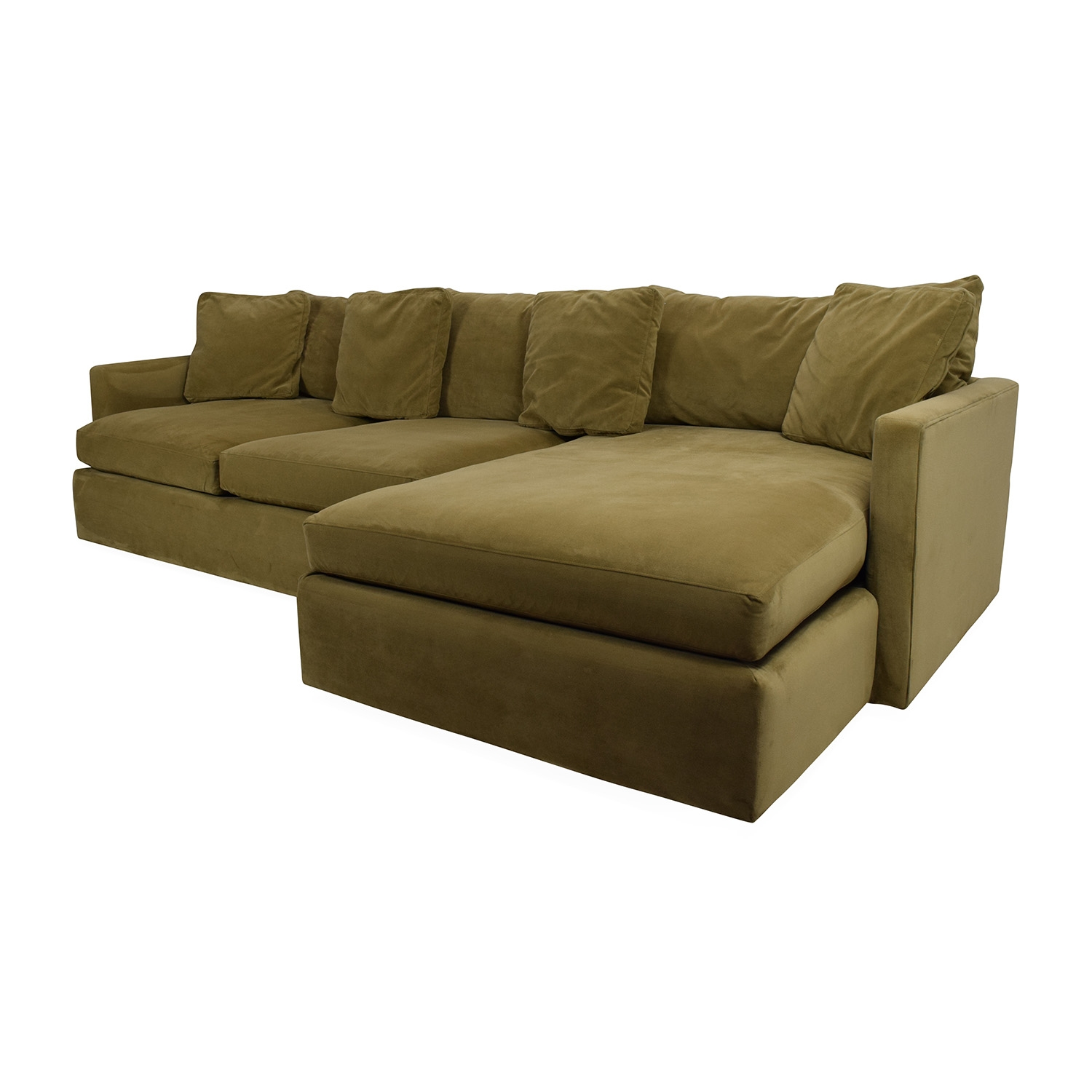 65 Off Crate And Barrel Crate And Barrel Lounge Ii Sectional Intended For Crate And Barrel Sectional Sofas (#2 of 12)