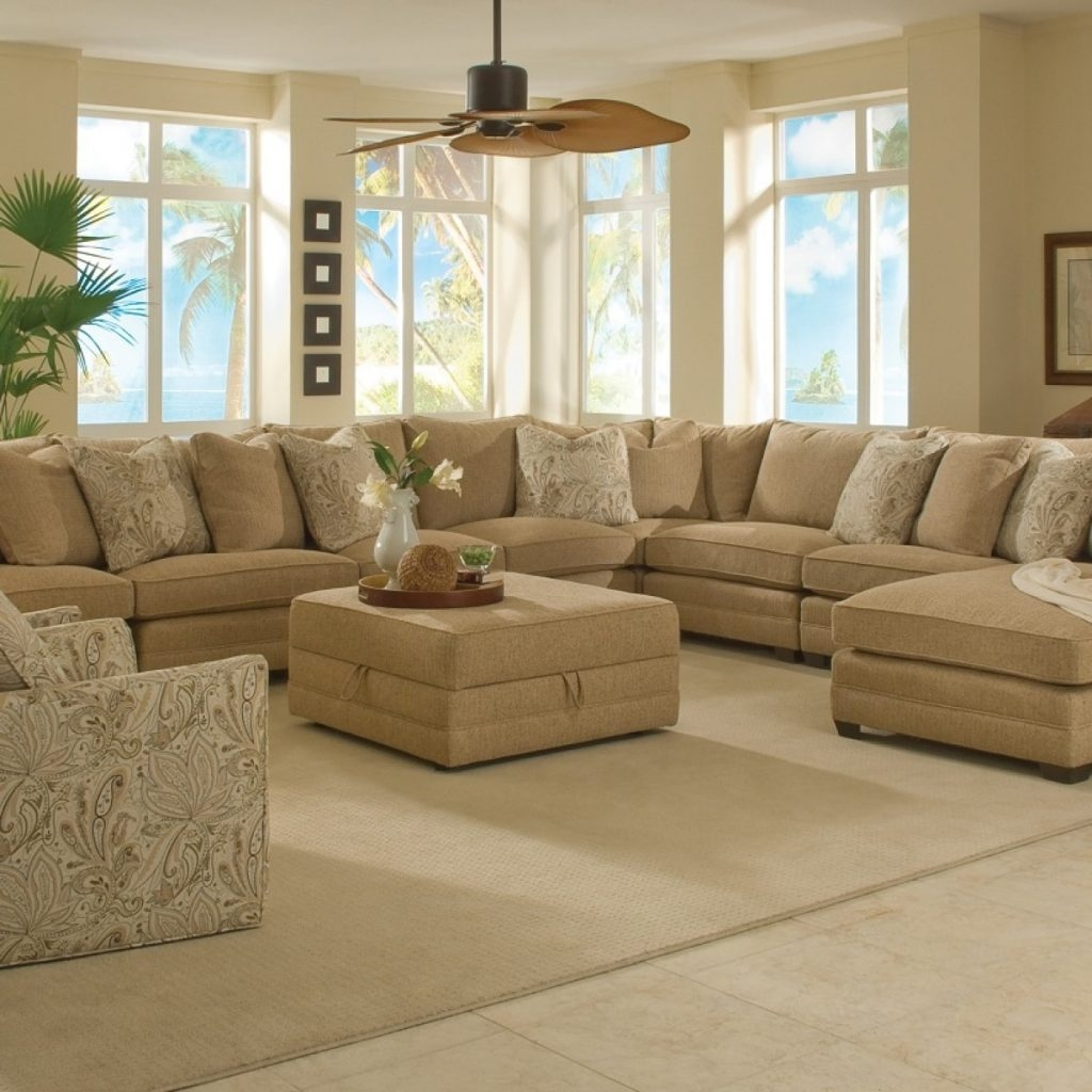 12 of 7 Seat Sectional Sofa