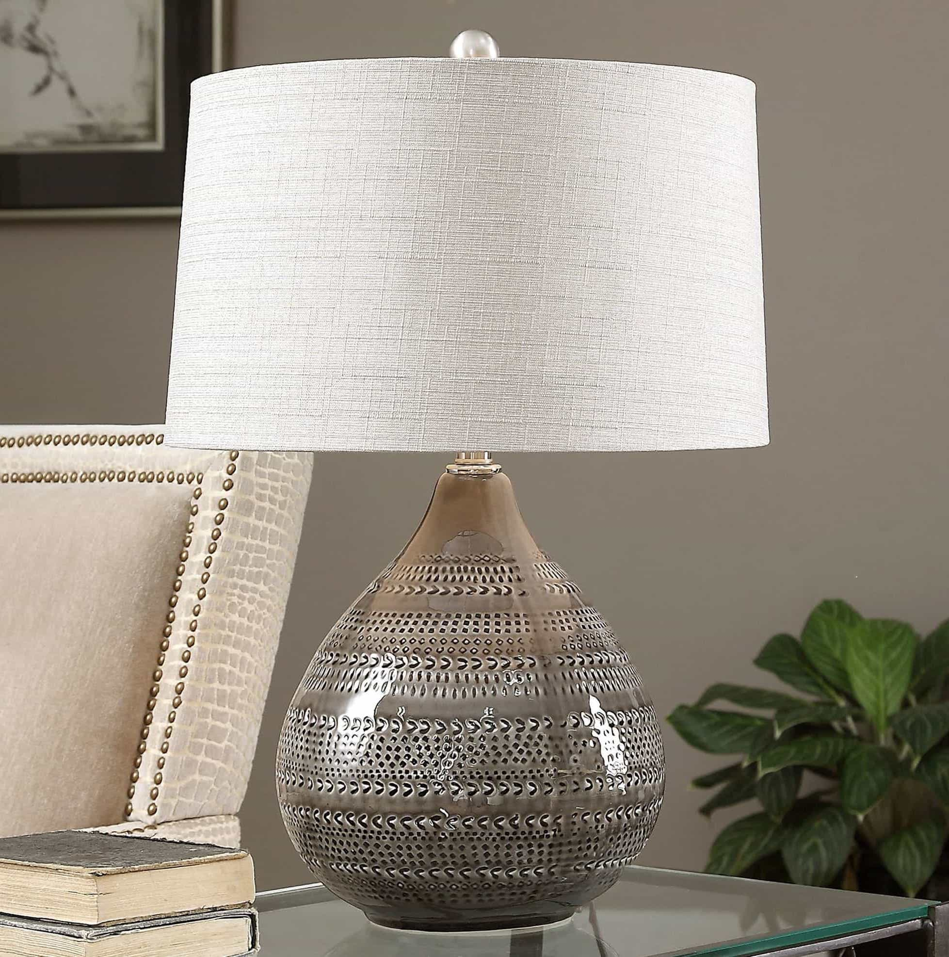Brown Cozy Country Ceramic Table Lamps (#2 of 5)