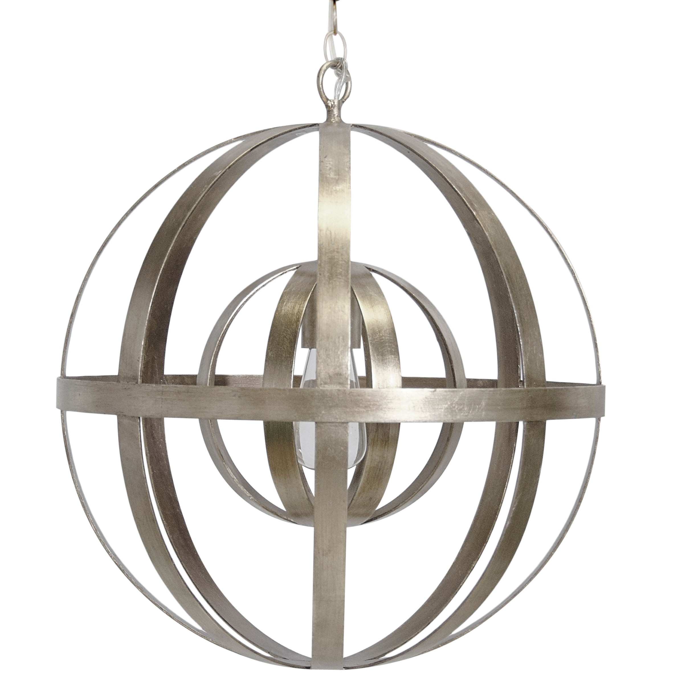 Accessories Industrial Orb For Sphere Chandelier As Ceiling Light With Regard To Sphere Chandelier (#2 of 12)