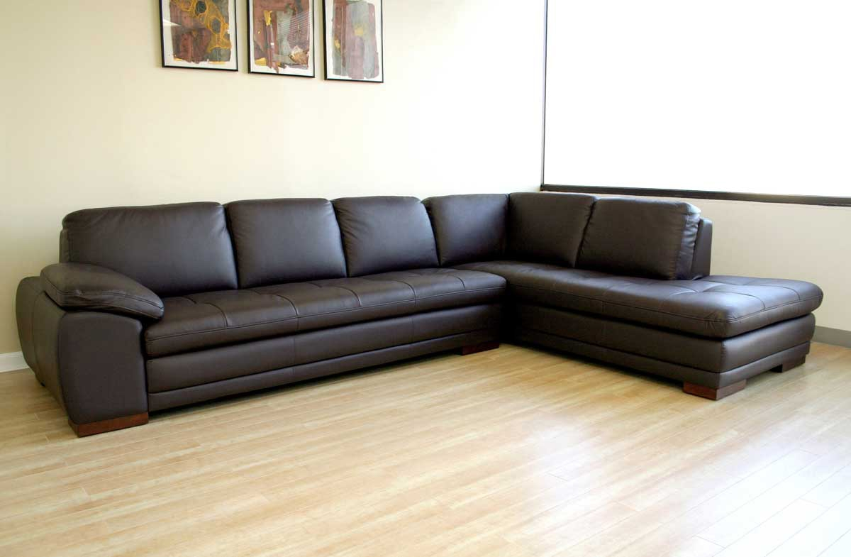 admirable diana dark brown leather sectional sofa set izof17 with regard to diana dark brown leather