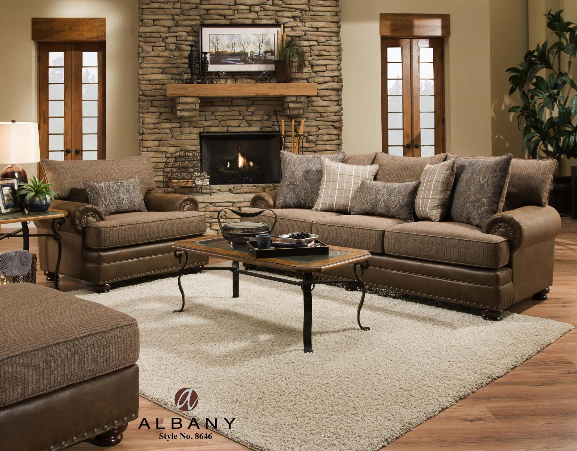 Albany Industries Sofa Fjellkjeden With Albany Industries Sectional Sofa (#6 of 12)