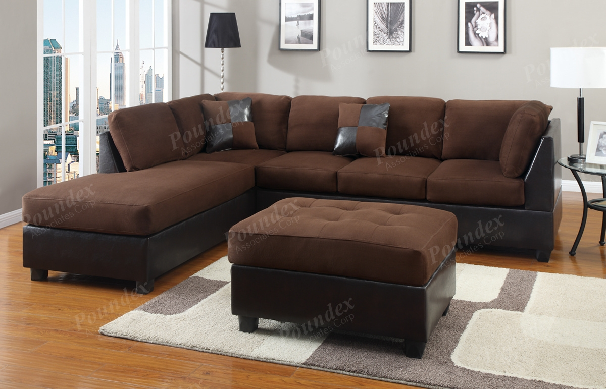 warm expansive its dark understated couch design sectional pin with your combines sofa of brown the home leather enrich elegance this stuart decor