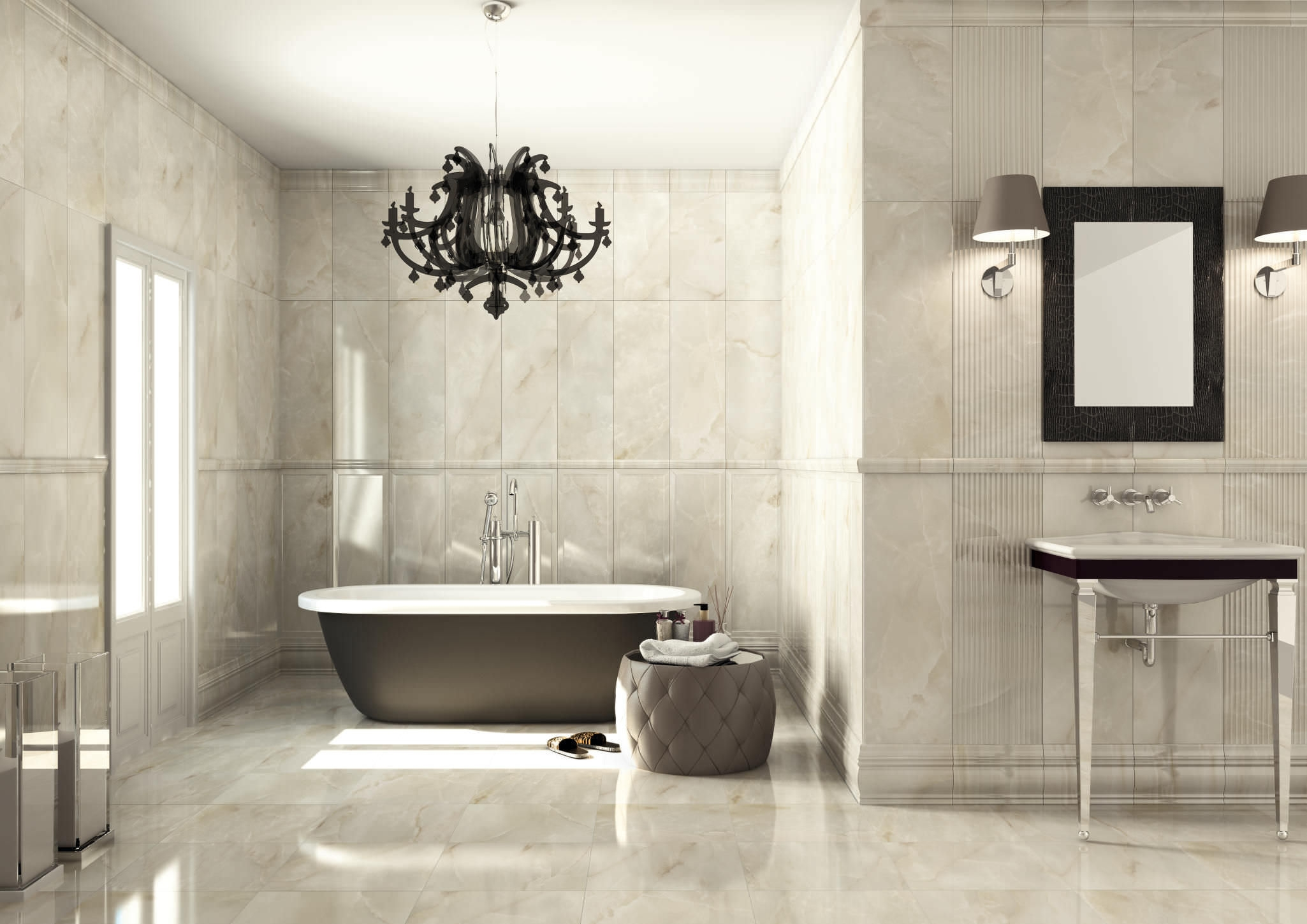 Amazing Of Modern Bathroom Chandeliers Inspiring Modern Chandelier With Regard To Modern Bathroom Chandeliers (#2 of 12)