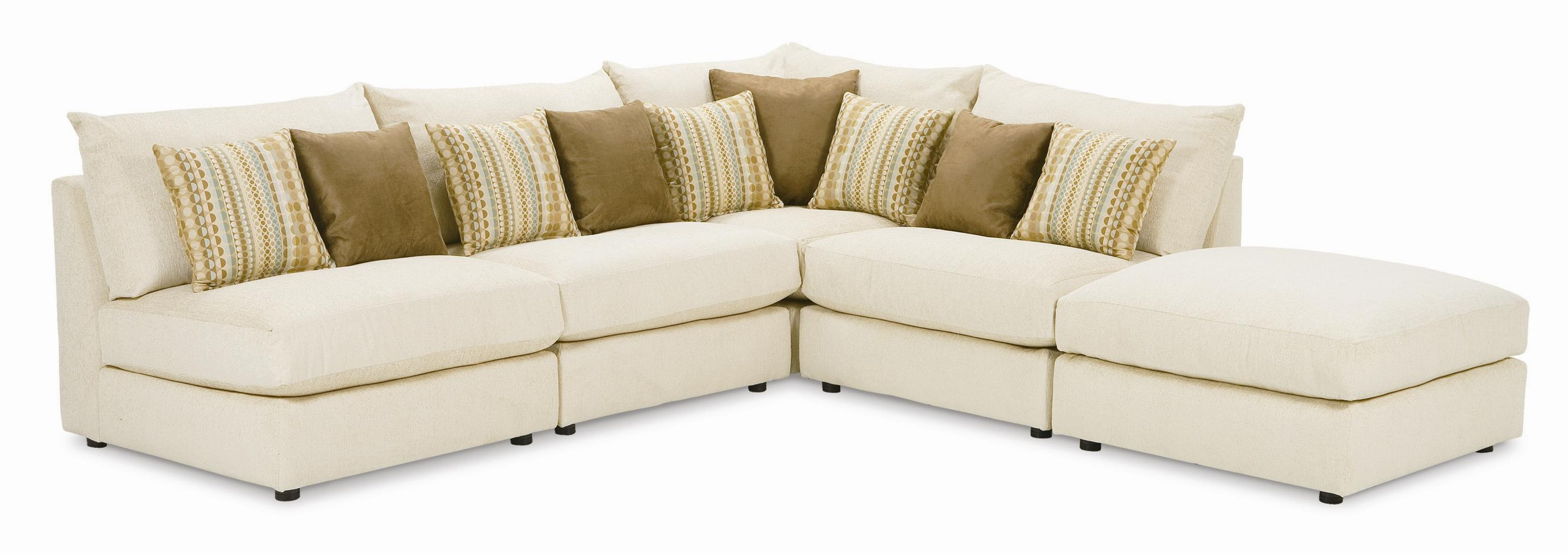Popular Photo of Armless Sectional Sofas