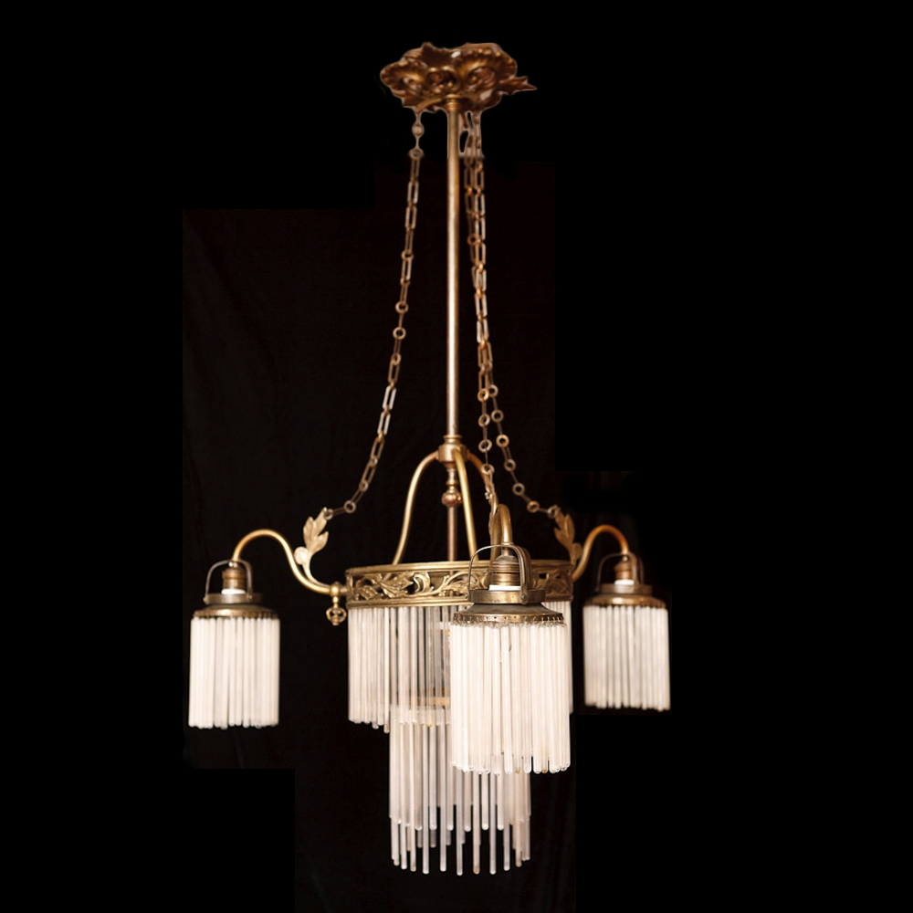 12 best collection of art deco chandeliers. Black Bedroom Furniture Sets. Home Design Ideas