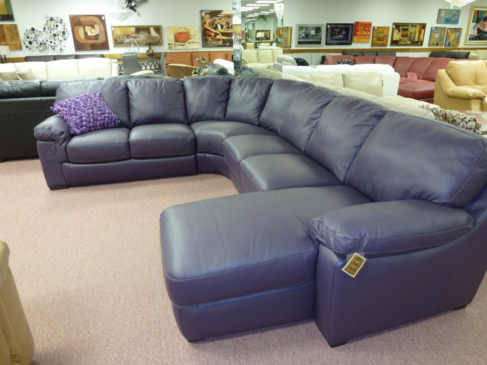 Astounding Eggplant Sectional Sofa 62 For Convertible Sectional Throughout Eggplant Sectional Sofa (#2 of 12)