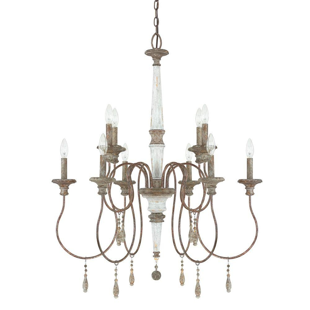 Austin Allen Co 10 Light French Antique Chandelier 9a195a The Within French Antique Chandeliers (#6 of 12)