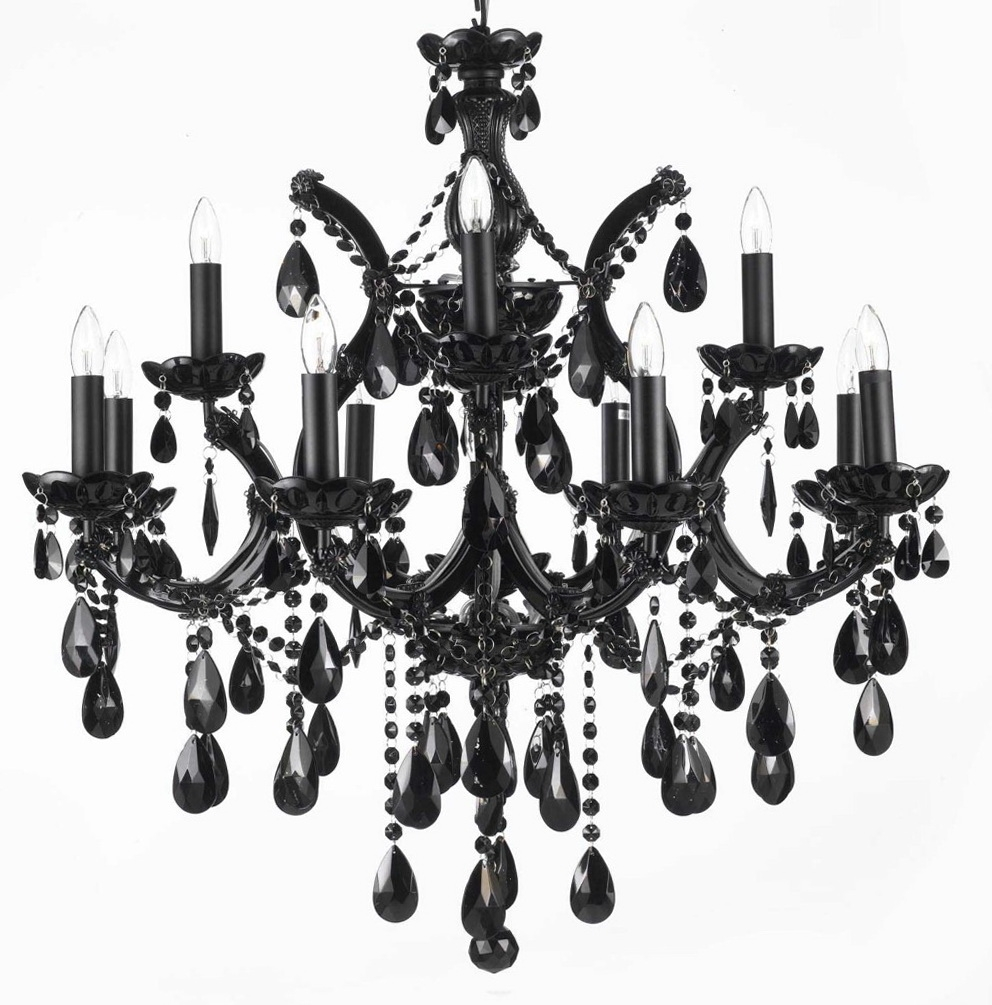 12 Inspirations Of Contemporary Black Chandelier