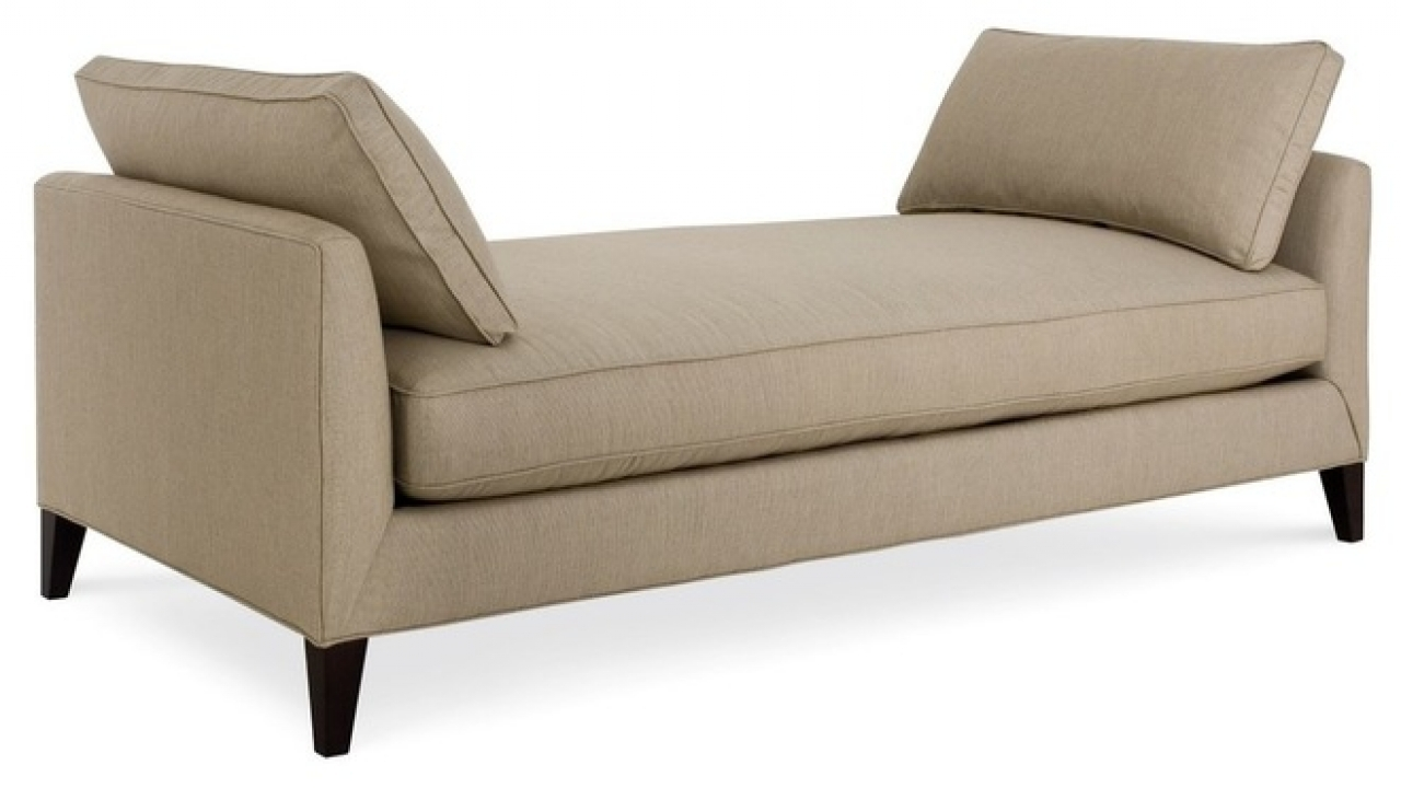 Backless Chaise Sofa Hereo Sofa Regarding Backless Chaise Sofa (#1 of 12)