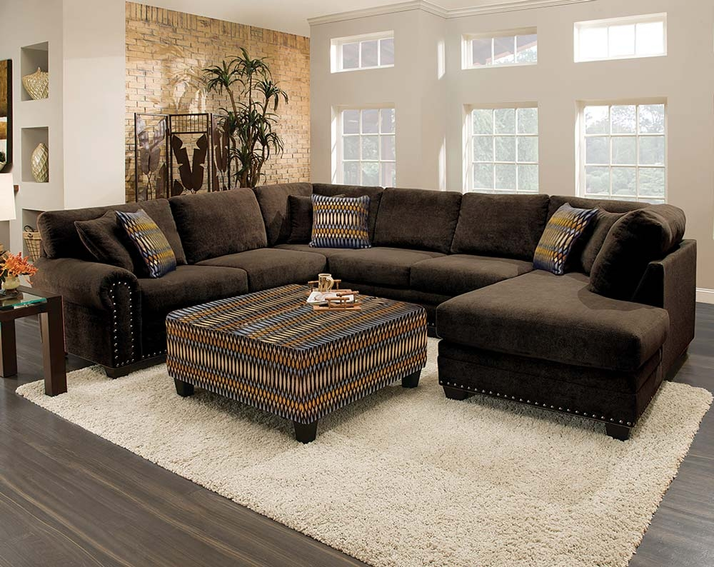 Best 20 Brown Sectional Sofa Ideas On Pinterest Brown Sectional Pertaining To Chocolate Brown Sectional Sofa (#4 of 12)