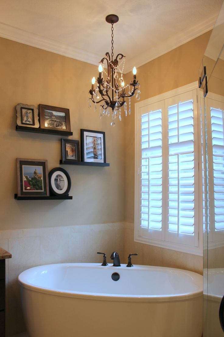 Best 25 Bathroom Chandelier Ideas On Pinterest With Chandelier In The Bathroom (#7 of 12)