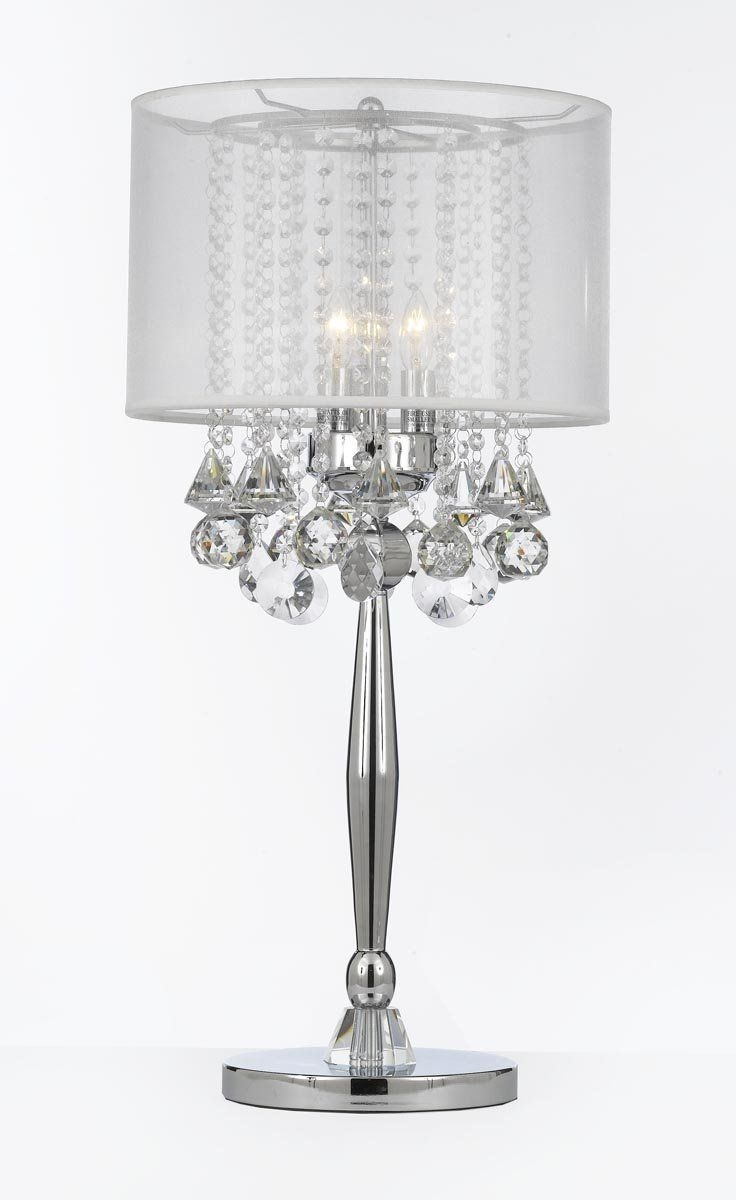 Best 25 Crystal Lamps Ideas On Pinterest With Crystal Table Chandeliers (#2 of 12)