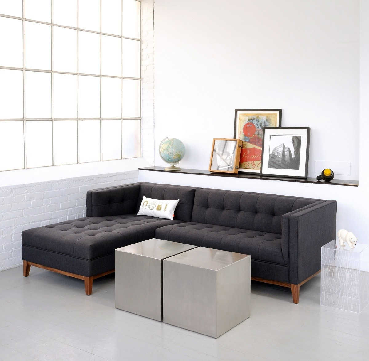 12 best collection of apartment sectional sofa with chaise for Apartment size chaise lounge
