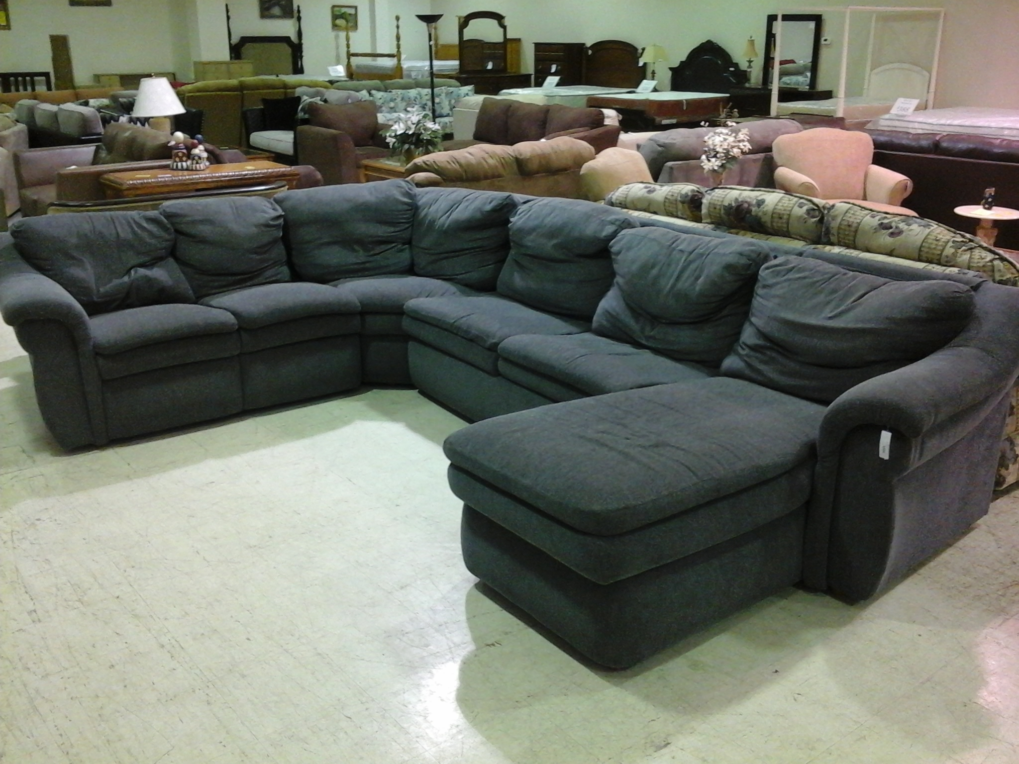 12 best ideas of black sectional sofa for cheap - Divani design low cost ...