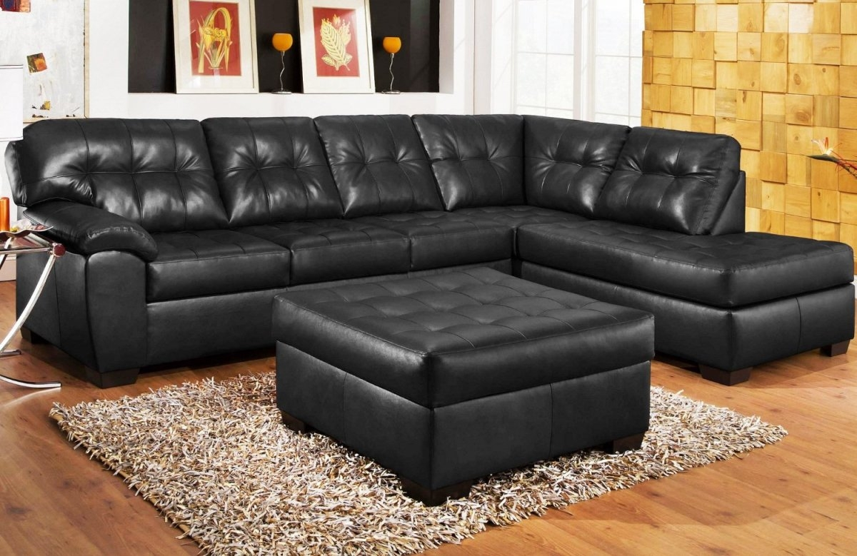 Black Sectional Sofa For Cheap Hereo Sofa Pertaining To Black Sectional Sofa For Cheap (#3 of 12)