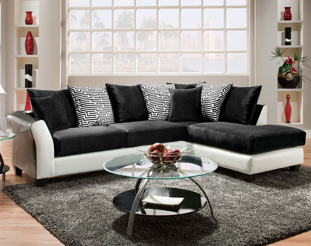 Black Sectional Sofa For Cheap Sofa Menzilperde For Black Sectional Sofa For Cheap (#4 of 12)