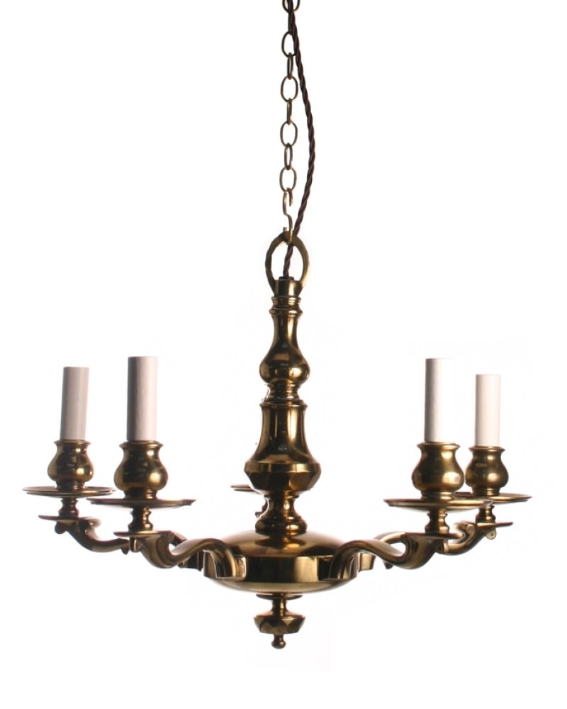 Brassedwardianchandelier Regarding Edwardian Chandelier (#2 of 12)