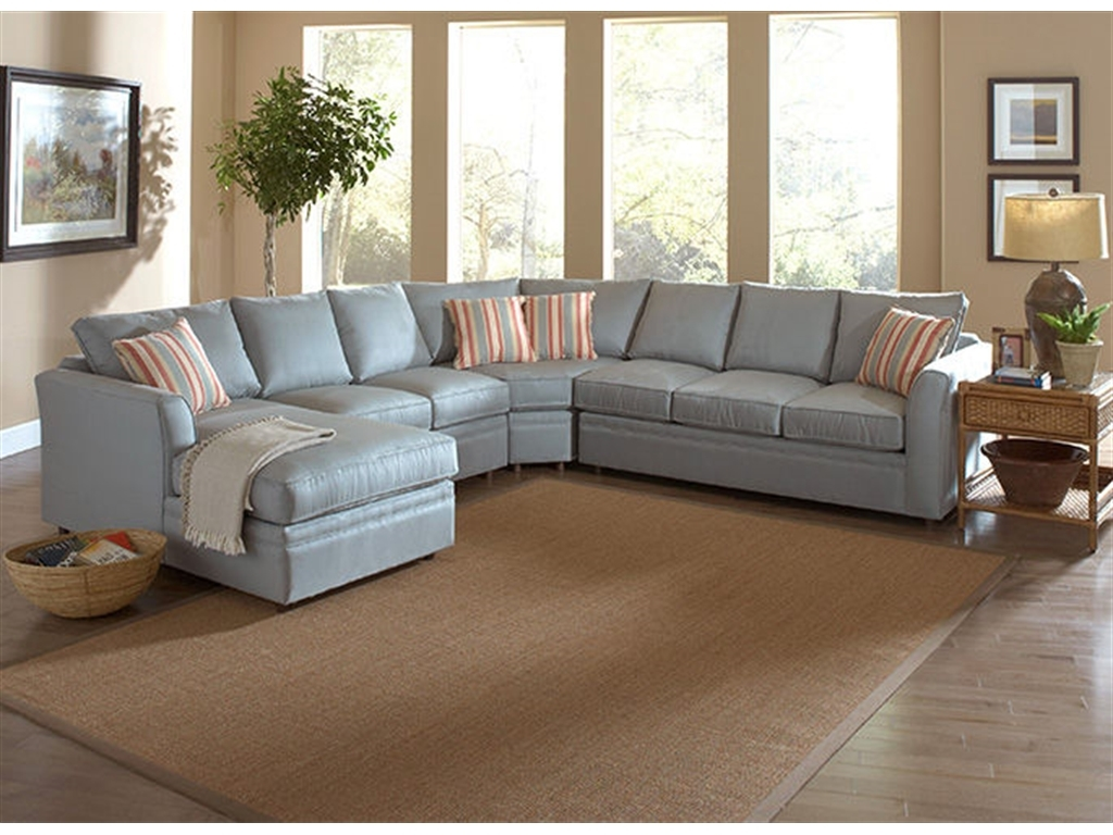 Braxton Culler Living Room Northfield Sectional 550 Sectional Within Braxton Sectional Sofa (#2 of 12)