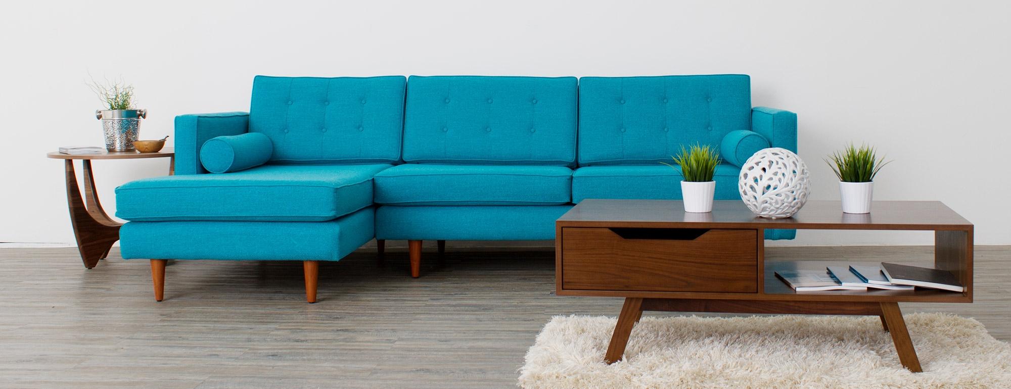 9 braxton modern modular sectional sofa for Modern modular sectional puzzle sofa
