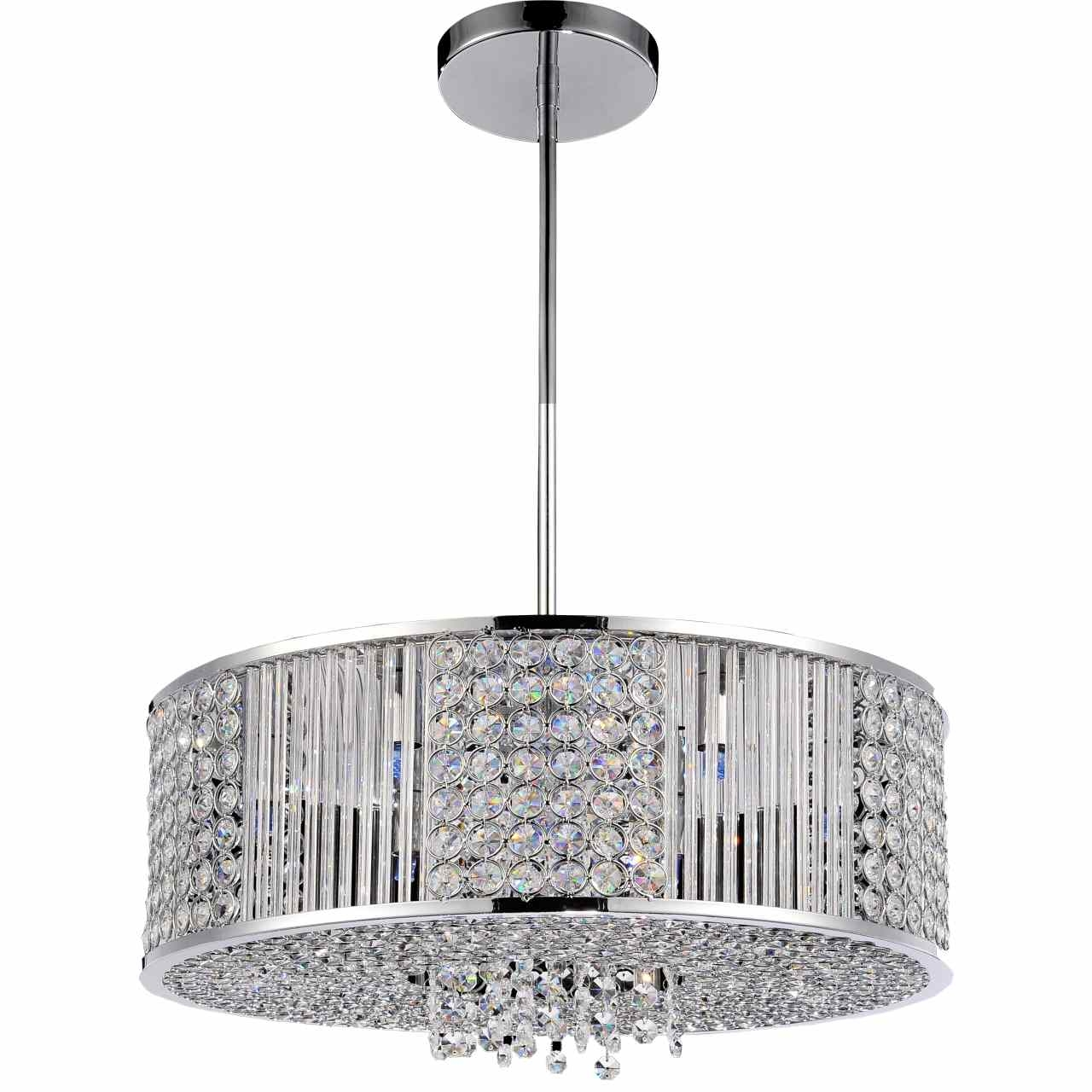 Popular Photo of Modern Chrome Chandeliers