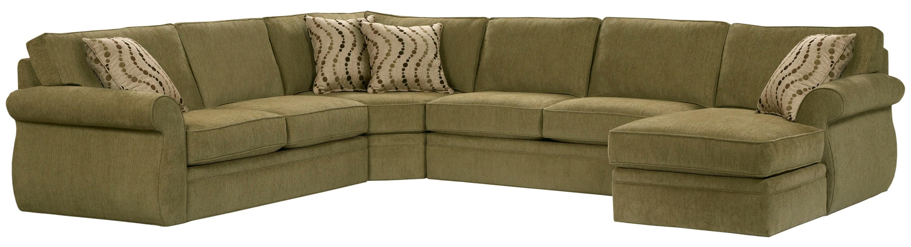 Broyhill Furniture Veronica Right Arm Facing Customizable Chaise For Broyhill Sectional Sofas (#7 of 12)