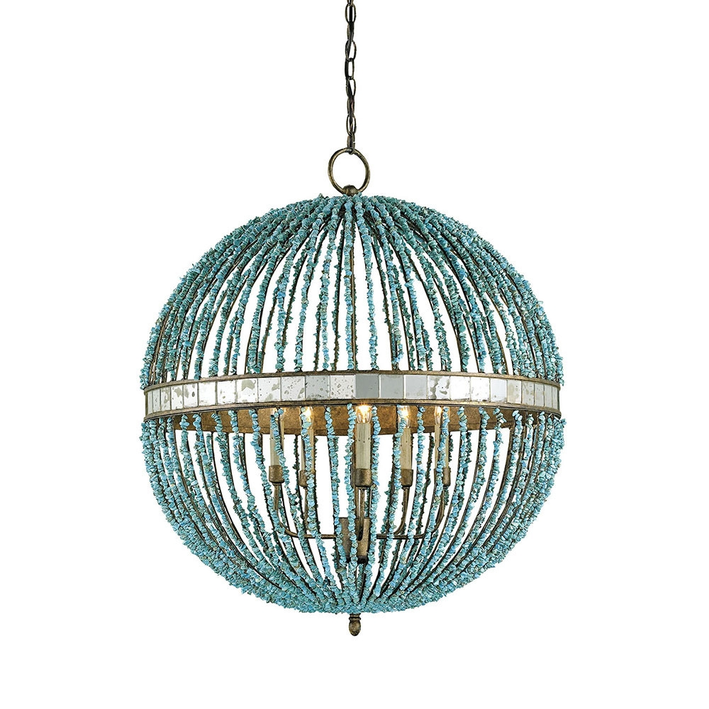 Buy The Alberto Orb Chandelier Currey Company Inside Sphere Chandelier (#4 of 12)