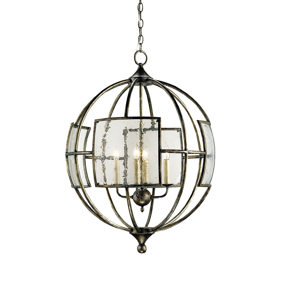 Buy The Broxton Orb Chandelier Currey Company In Orb Chandelier (#4 of 12)