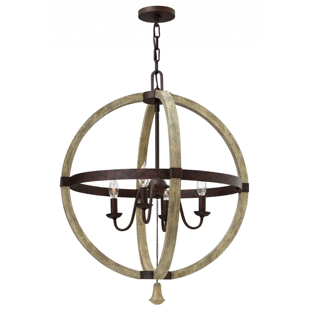 Buy The Middlefield 4 Light Sphere Chandelier In Sphere Chandelier (#5 of 12)