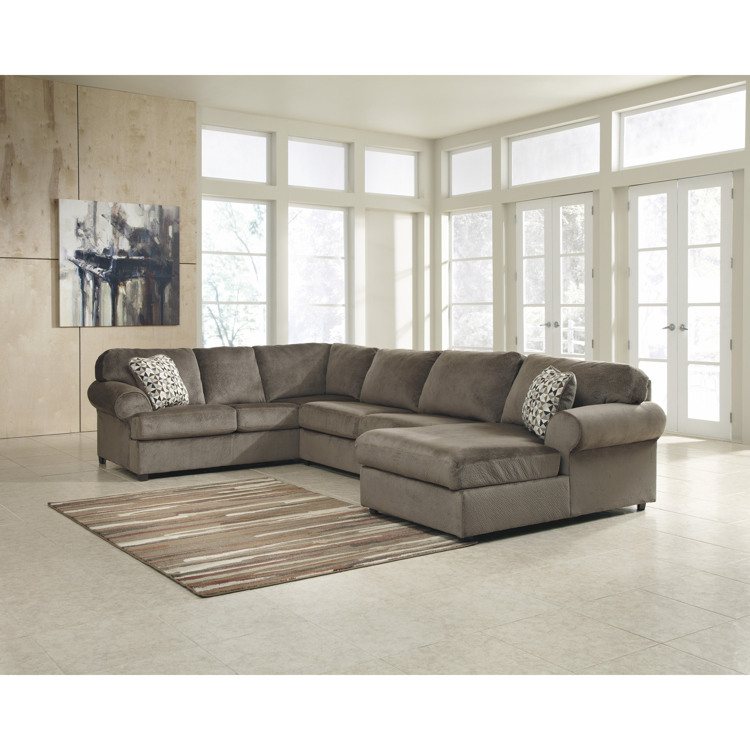 C Shaped Sectional Sofa Cleanupflorida For C Shaped Sectional Sofa (#4 of 12)