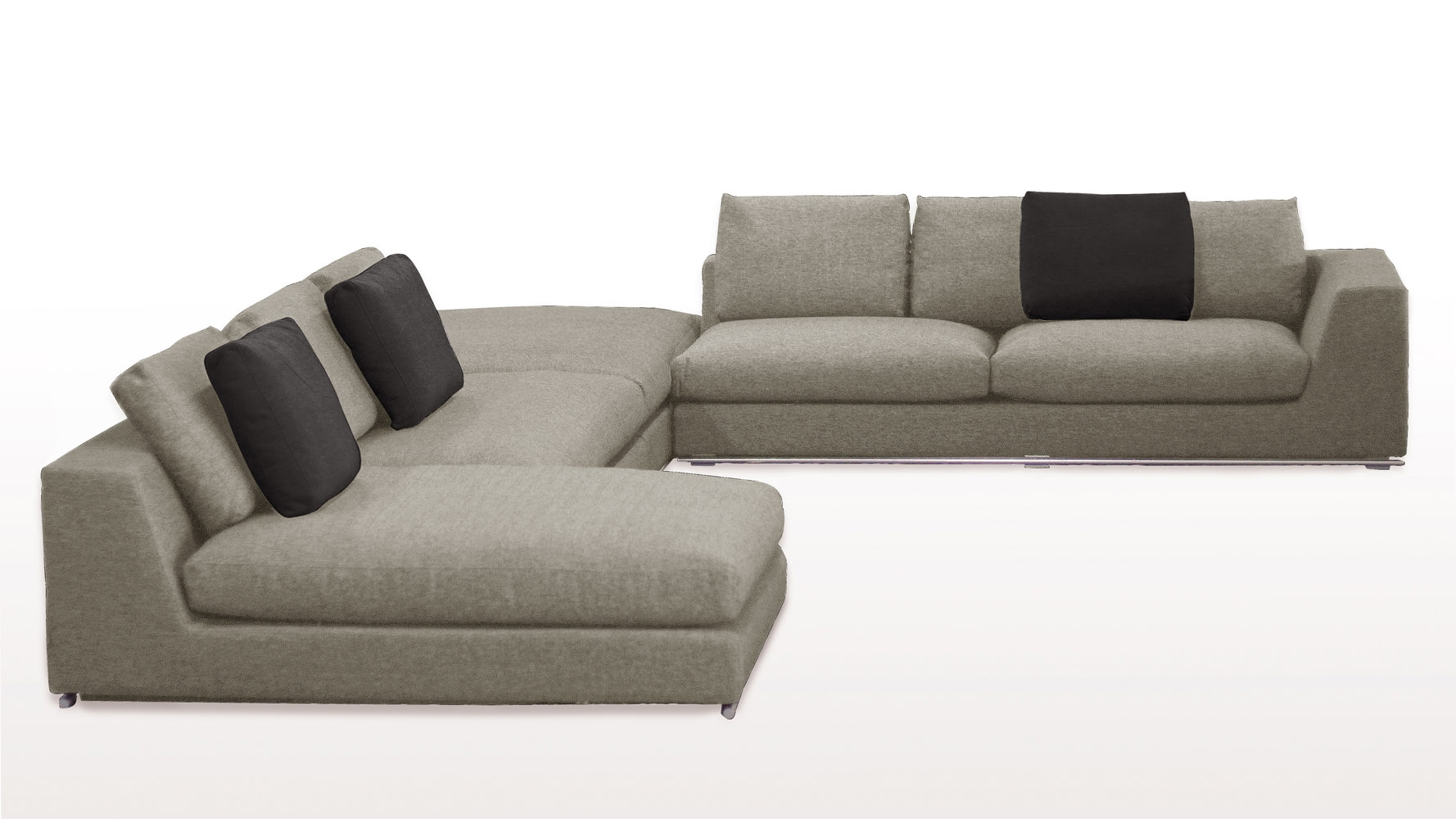C Shaped Sectional Sofa Sofa Menzilperde Within C Shaped Sofas (View 8 of 12)