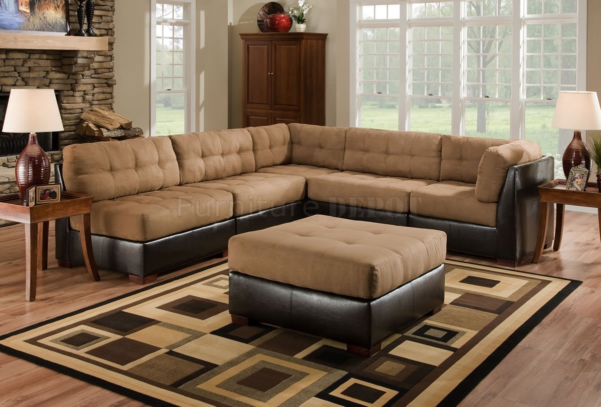 Camel Colored Sectional Sofa Hereo Sofa In Camel Sectional Sofa (#3 of 12)