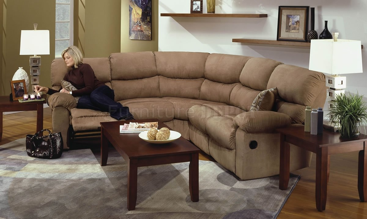 Popular Photo of Camel Colored Sectional Sofa
