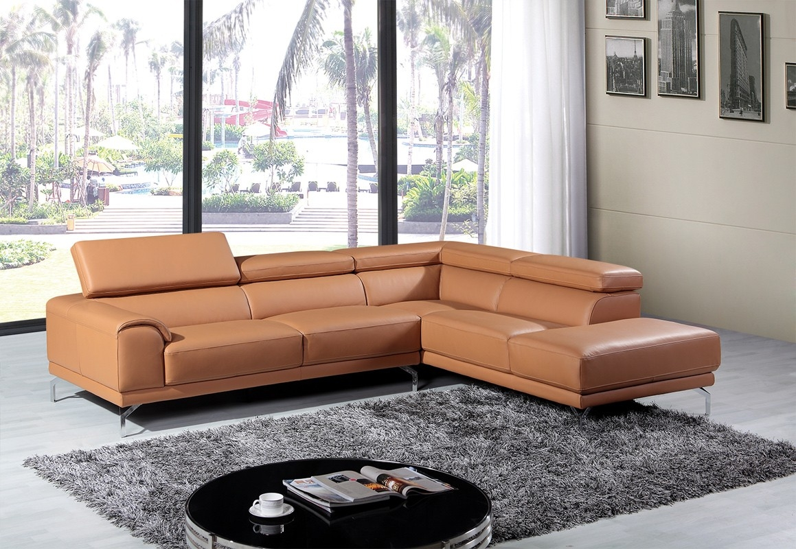 Camel Colored Sectional Sofa Hereo Sofa Within Camel Sectional Sofa (#5 of 12)