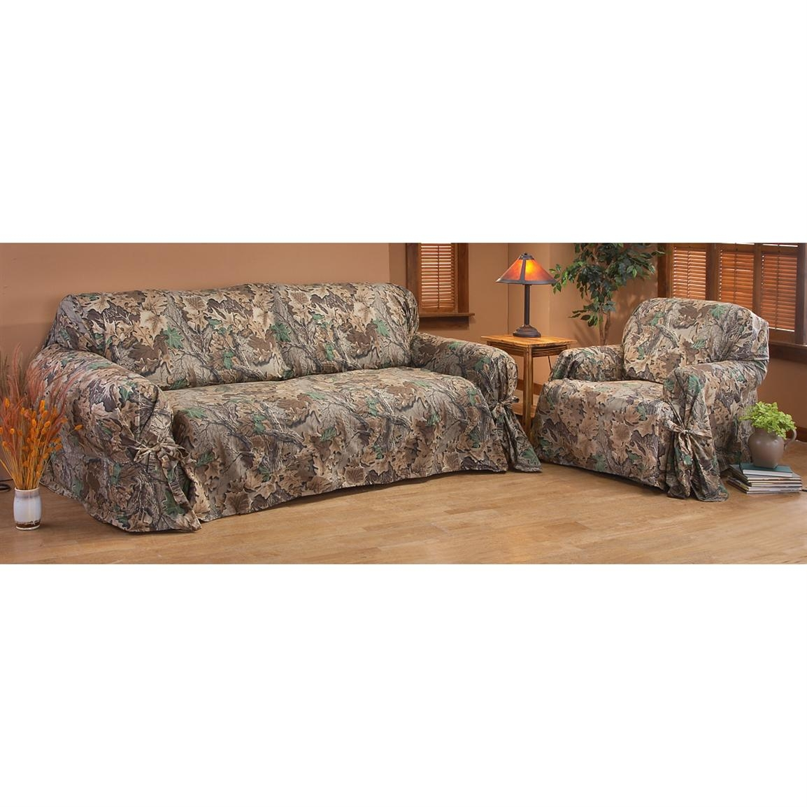 Popular Photo of Camo Sofa Cover
