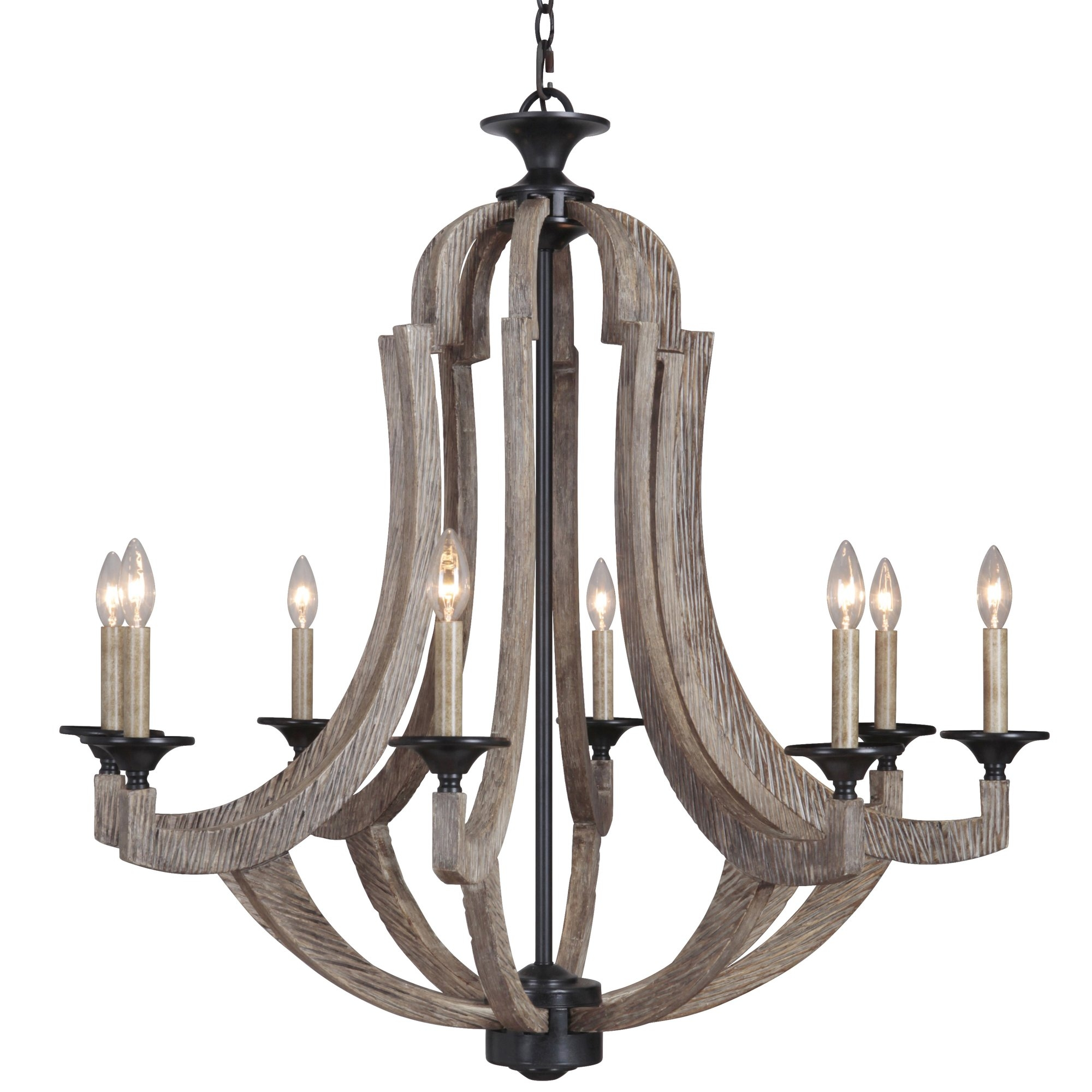 Candle Chandeliers Youll Love Wayfair Inside Candle Light Chandelier (#2 of 12)