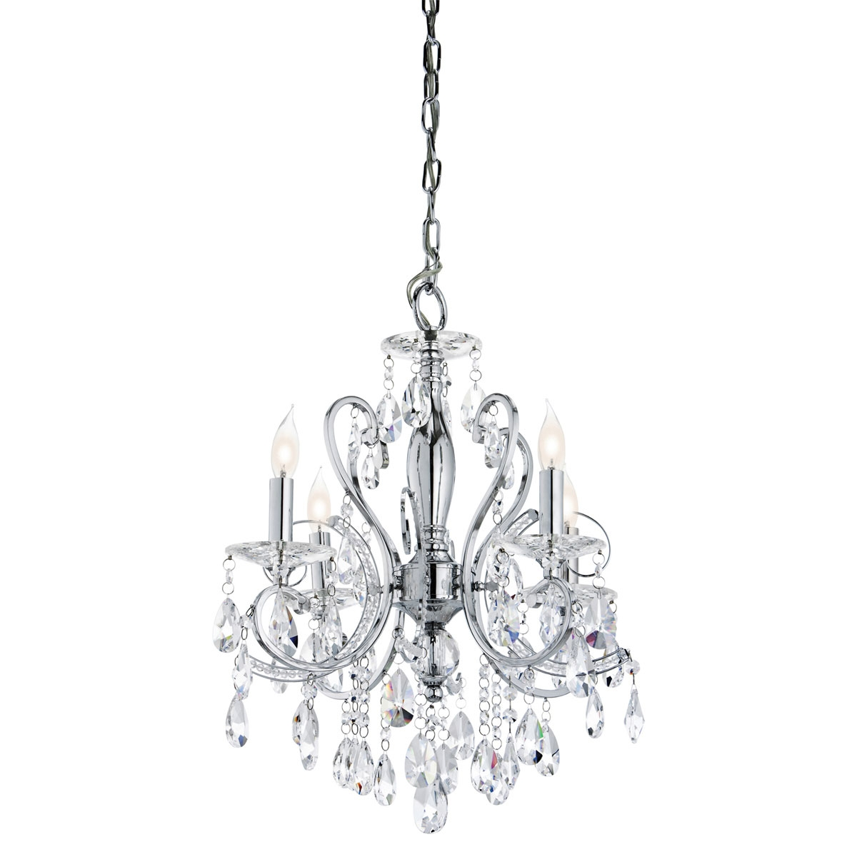12 best ideas of modern small chandeliers - Small crystal chandelier for bathroom ...