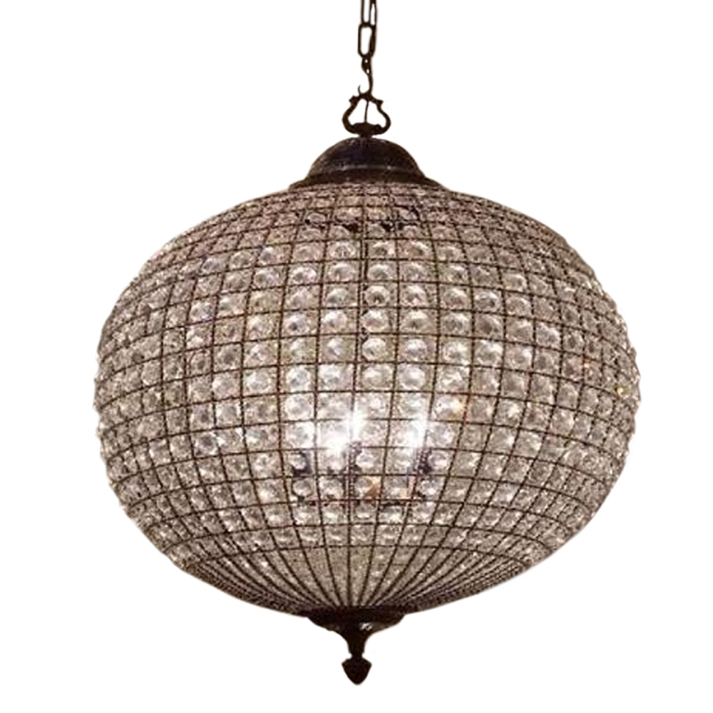 Chandelier Chandelier Crystal With Chand Lighting Sound Crystalll Intended For Globe Crystal Chandelier (#4 of 12)