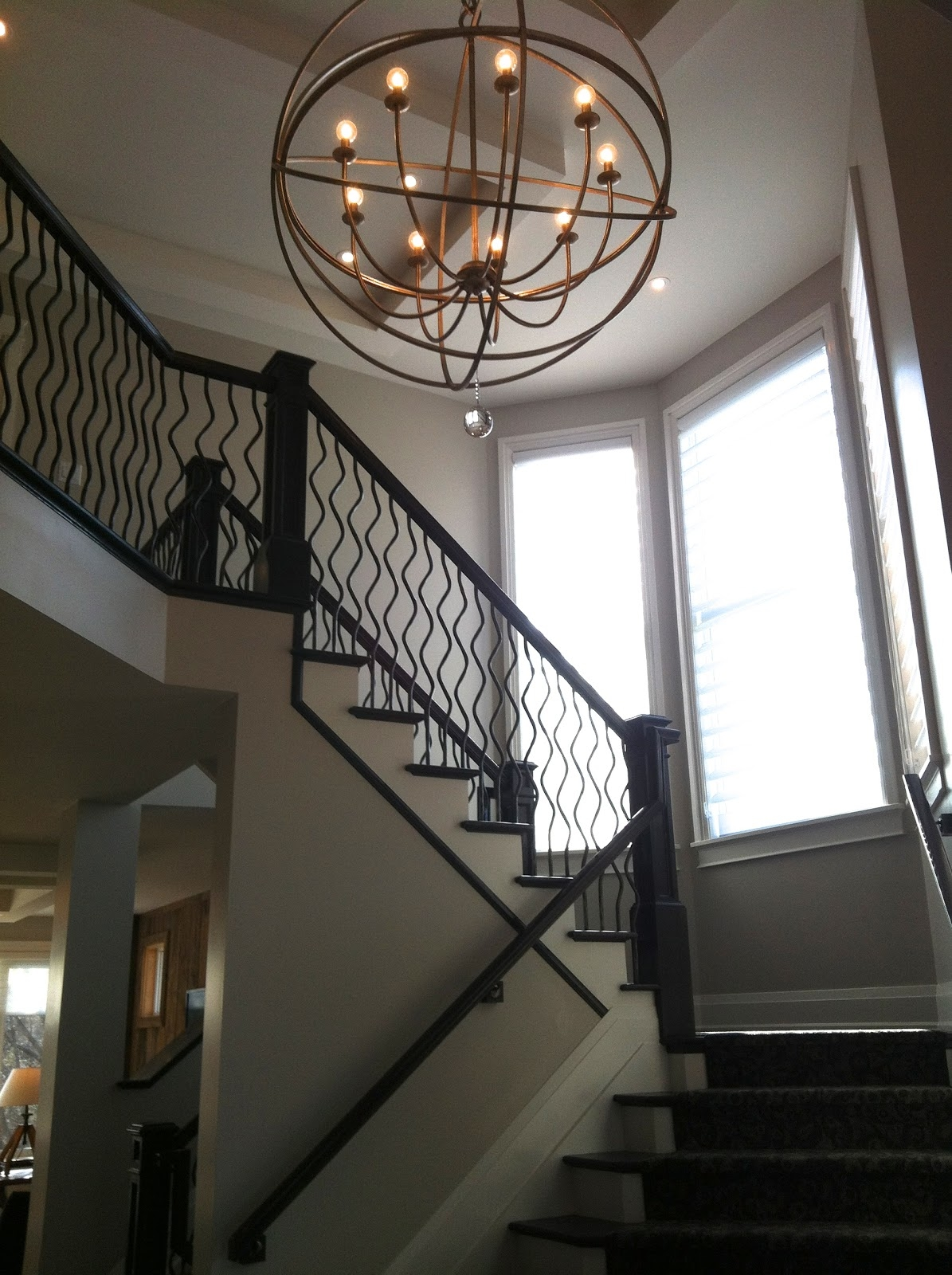 Viewing photos of staircase chandeliers showing 9 of 12 photos inspiration about chandelier chandelier staircase lighting large diystaircase regarding staircase chandeliers 9 of 12 aloadofball Image collections